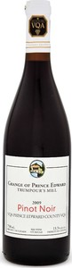 The Grange Of Prince Edward Pinot Noir 2009, VQA Prince Edward County, Estate Btld. Bottle