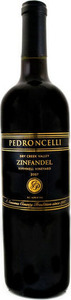 Pedroncelli Bushnell Vineyard Zinfandel 2011, Dry Creek Valley, Sonoma County Bottle