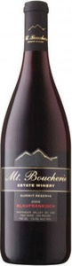 Mt. Boucherie Summit Reserve Blaufrankisch 2010, BC VQA Okanagan Valley Bottle