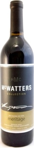 Mcwatters Collection Meritage 2009, Okanagan Valley Bottle