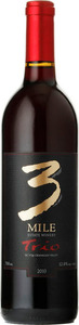 3 Mile Estate Winery Trio 2011, BC VQA Okanagan Valley Bottle