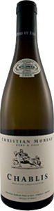 Domaine Christian Moreau Chablis 2013 Bottle