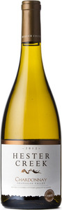 Hester Creek Chardonnay 2013, Okanagan Valley Bottle