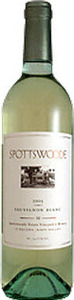 Spottswoode Sauvignon Blanc 2013, Napa Valley Bottle