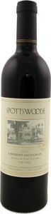 Spottswoode Estate Cabernet Sauvignon 2001, Napa Valley Bottle