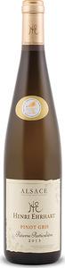 Henri Ehrhart Réserve Particulière Pinot Gris 2013, Ac Alsace Bottle