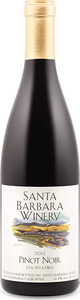 Santa Barbara Winery Pinot Noir 2012, Santa Rita Hills Bottle
