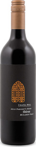 Chapel Hill The Parson's Nose Shiraz 2012, Mclaren Vale, South Australia Bottle