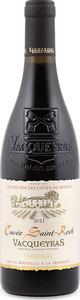 Vignobles De Balma Vénitia Cuvée Saint Roch Vacqueyras 2011, Ac Bottle