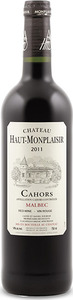 Château Haut Monplaisir Tradition 2011, Ac Cahors Bottle