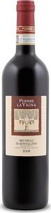 Podere La Vigna Brunello Di Montalcino 2008 Bottle