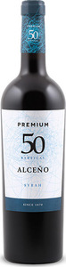 Alceño Premium 50 Barricas Syrah 2012, Do Jumilla Bottle