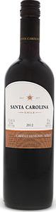 Santa Carolina Cabernet Sauvignon Merlot 2011 Bottle