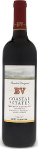 Bv Coastal Estates Cabernet Sauvignon 2011 Bottle