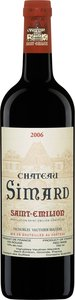 Chateau Simard 2006 Bottle