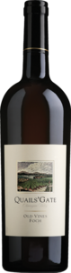 Quails' Gate Old Vines Foch 2011, BC VQA Okanagan Valley Bottle