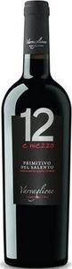 12 E Mezzo Primitivo Del Salento 2012, Igp Bottle