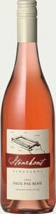 Stoneboat Faux Pas Rose 2013 Bottle