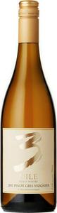 3 Mile Estate Winery Pinot Gris Viognier 2013, VQA Okanagan Valley Bottle
