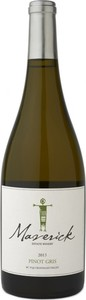 Maverick Pinot Gris 2013, BC VQA Okanagan Valley Bottle