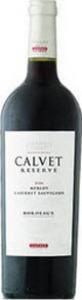 Calvet Reserve Merlot Cabernet Sauvignon 2011 Bottle