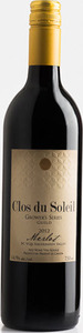 Clos Du Soleil Grower's Series Merlot 2012, BC VQA Similkameen Valley Bottle