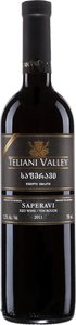 Teliani Valley Saperavi 2011, Unfiltered Bottle