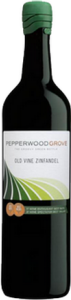 Pepperwood Grove Old Vine Zinfandel 2013, California Bottle