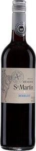 Réserve Saint Martin Merlot 2013, Pays D'oc Bottle