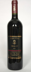 Winery Pivka Merlot 2012, Tikoes Bottle