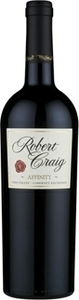 Robert Craig Affinity Cabernet Sauvignon 2011, Napa Valley Bottle