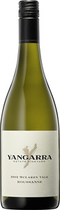 Yangarra Estate Vineyard Roussanne 2012, Mclaren Vale, Australia Bottle