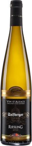 Wolfberger Signature Riesling 2013, Ac Alsace Bottle