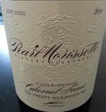 Pearl Morissette Cuvée Persephone Cabernet Franc 2011, VQA Twenty Mile Bench, Niagara Peninsula Bottle