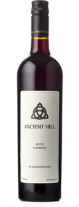 Ancient Hill Lazerus 2010, BC VQA Okanagan Valley Bottle