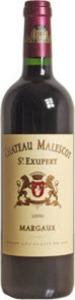 Château Malescot St Exupéry 2012, Ac Margaux Bottle