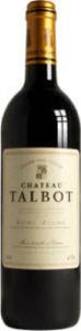 Château Talbot 2012, Ac St Julien Bottle