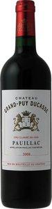 Château Grand Puy Ducasse 2012, Ac Pauillac Bottle