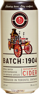 Brickworks Ciderhouse Premium Dry Craft Cider Batch: 1904 (473ml) Bottle