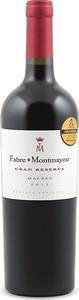 Fabre Montmayou Gran Reserva Malbec 2011, Mendoza Bottle