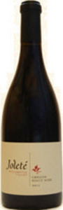 Joleté Pinot Noir 2012, Willamette Valley Bottle