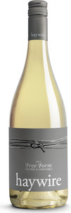 Haywire Free Form Natural And Unfiltered White 2013, Summerland Bottle