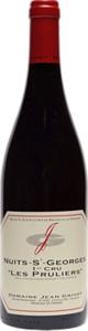 Domaine Jean Grivot Nuits Saint Georges Premier Cru Les Pruliers 2008 Bottle