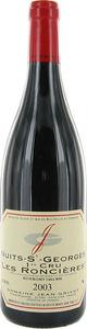 Domaine Jean Grivot Vosne Romanée Premier Cru Les Chaumes 2009 Bottle