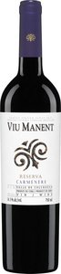 Viu Manent Reserva Carmenère 2011, Colchagua, Rapel Valley Bottle