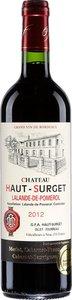 Château Haut Surget 2012, Ac Lalande De Pomerol Bottle