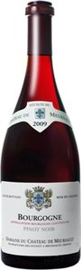 Domaine Du Château De Meursault Bourgogne Pinot Noir 2010 Bottle