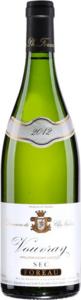 Philippe Foreau Domaine Du Clos Naudin Vouvray Sec 2012 Bottle