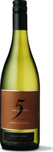 Mission Hill 5 Vineyards Chardonnay 2013, VQA Okanagan Valley Bottle