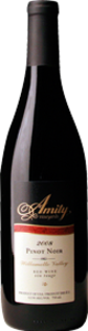 Amity Pinot Noir 2011, Willamette Valley, Oregon Bottle